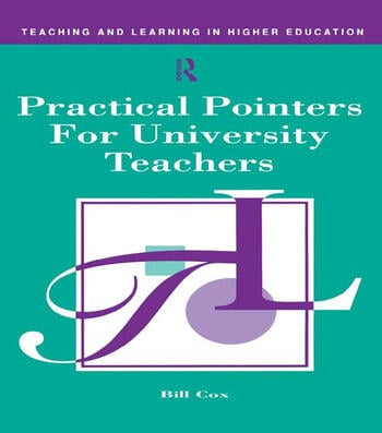 Practical Pointers for University Teachers book cover