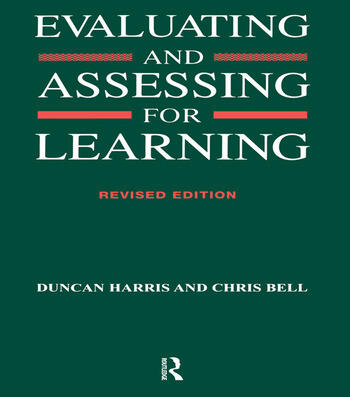 Evaluating and Assessing for Learning book cover