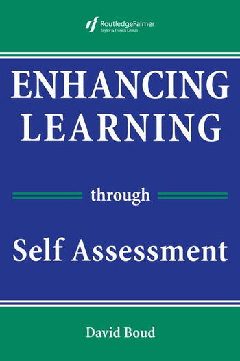 Enhancing Learning Through Self-assessment book cover