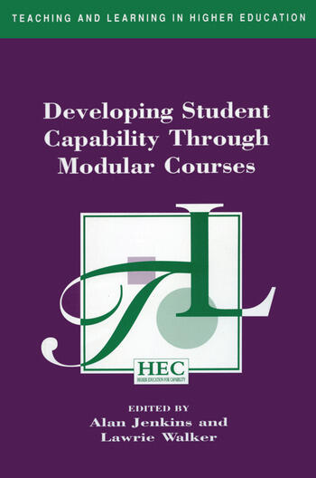 Developing Student Capability Through Modular Courses book cover
