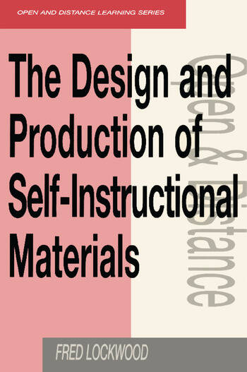 The Design and Production of Self-instructional Materials book cover