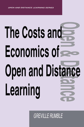 The Costs and Economics of Open and Distance Learning book cover
