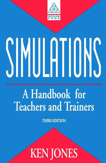 Simulations: a Handbook for Teachers and Trainers book cover