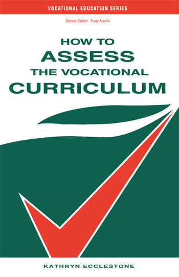How to Assess the Vocational Curriculum book cover