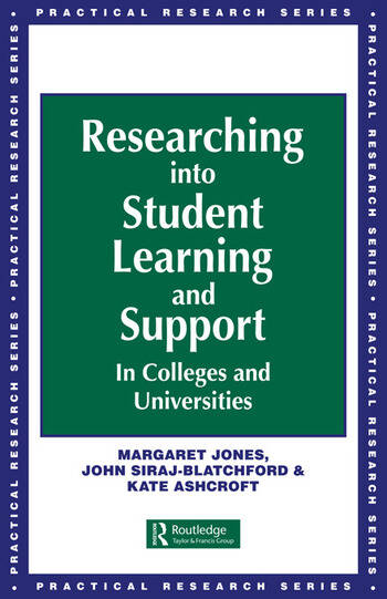 Researching into Student Learning and Support in Colleges and Universities book cover