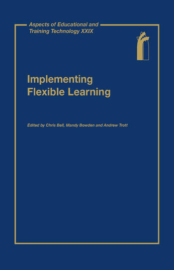 Aspects of Educational and Training Technology book cover