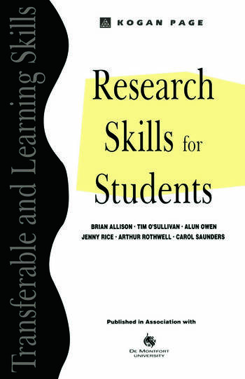 Research Skills for Students book cover
