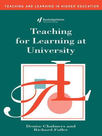 Teaching for Learning at University book cover