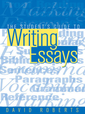 The Student's Guide to Writing Essays book cover