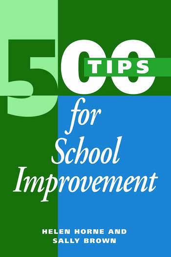 500 Tips for School Improvement book cover