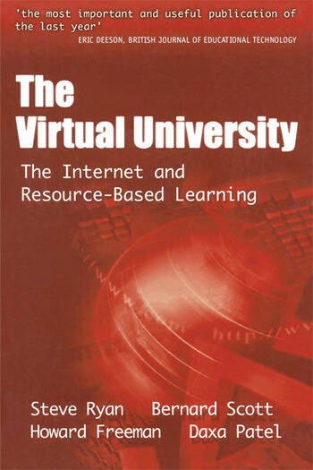 The Virtual University The Internet and Resource-based Learning book cover