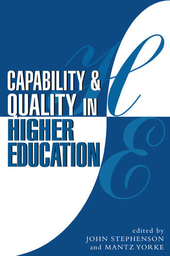 Capability and Quality in Higher Education book cover