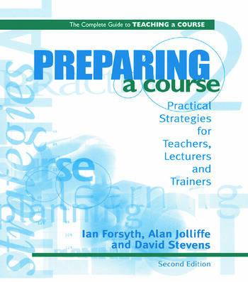 Preparing a Course book cover