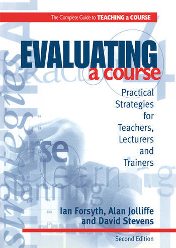 Evaluating a Course book cover