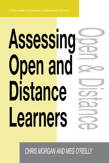 Assessing Open and Distance Learners book cover