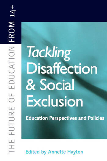 Tackling Disaffection and Social Exclusion book cover