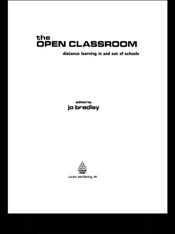 The Open Classroom Distance Learning in Schools book cover
