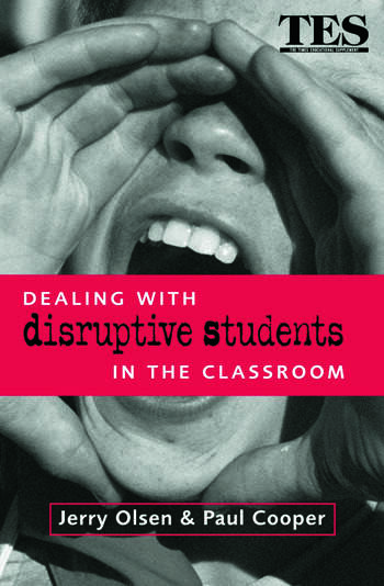 Dealing with Disruptive Students in the Classroom book cover