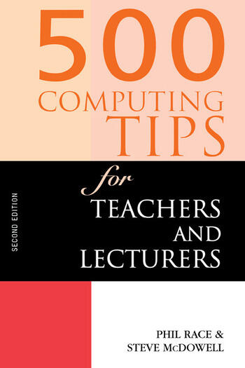 500 Computing Tips for Teachers and Lecturers book cover