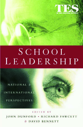 School Leadership National and International Perspectives book cover