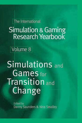 The International Simulation & Gaming Research Yearbook book cover