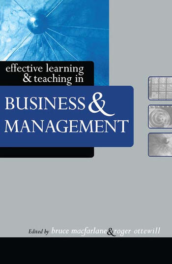 Effective Learning and Teaching in Business and Management book cover