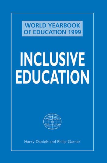 Inclusive Education book cover