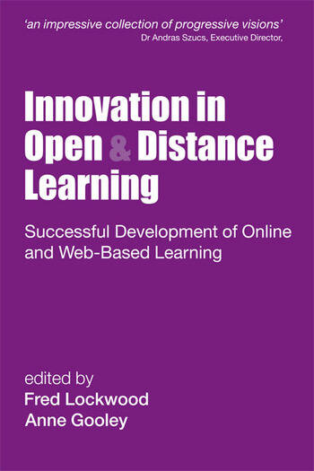 Innovation in Open and Distance Learning Successful Development of Online and Web-based Learning book cover