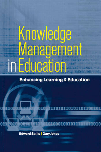 Knowledge Management in Education Enhancing Learning & Education book cover