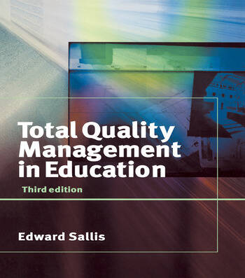Total Quality Management in Education book cover