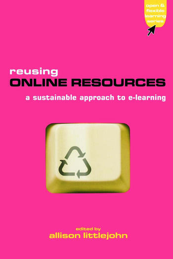 Reusing Online Resources A Sustainable Approach to E-learning book cover