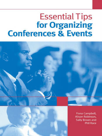 Essential Tips for Organizing Conferences & Events book cover