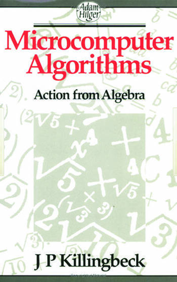 Microcomputer Algorithms Action from Algebra book cover