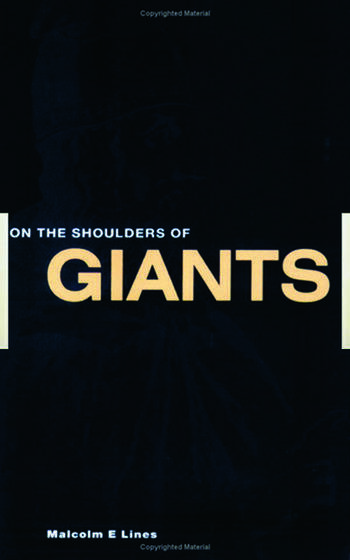 On the Shoulders of Giants book cover