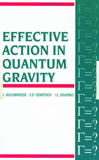 Effective Action in Quantum Gravity book cover