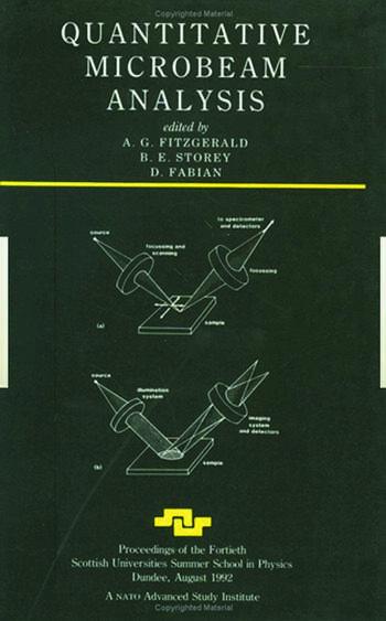 Quantitative Microbeam Analysis book cover