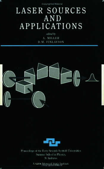 Laser Sources and Applications book cover