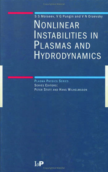 Non-Linear Instabilities in Plasmas and Hydrodynamics book cover