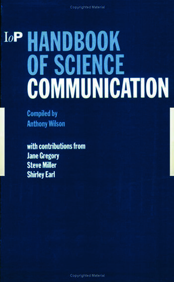 Handbook of Science Communication book cover