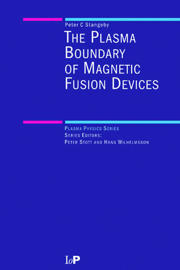 The Plasma Boundary of Magnetic Fusion Devices book cover