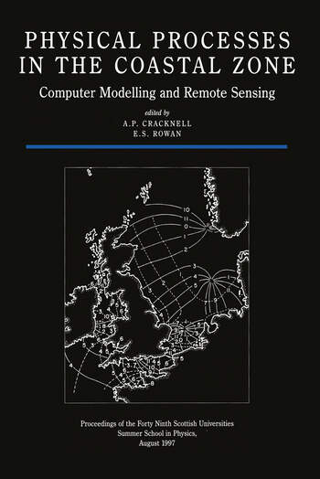 Physical Processes in the Coastal Zone Computer Modelling and Remote Sensing book cover