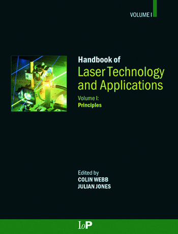 Handbook of Laser Technology and Applications (Three- Volume Set) book cover