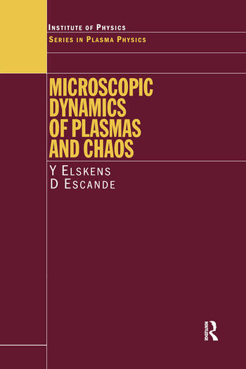 Microscopic Dynamics of Plasmas and Chaos book cover