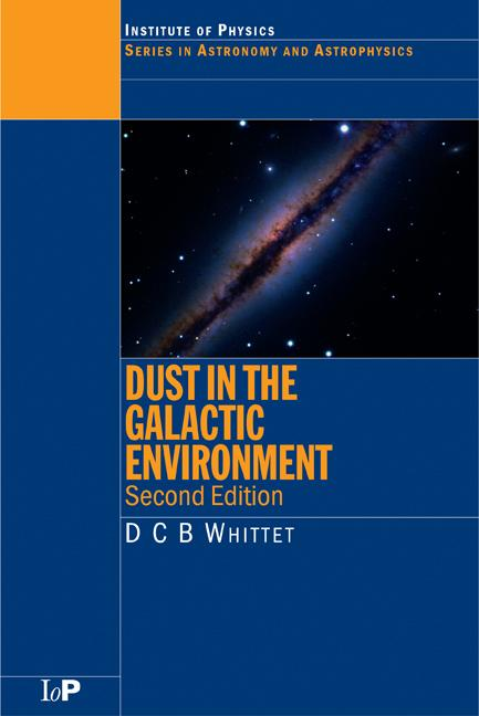 Dust in the Galactic Environment book cover