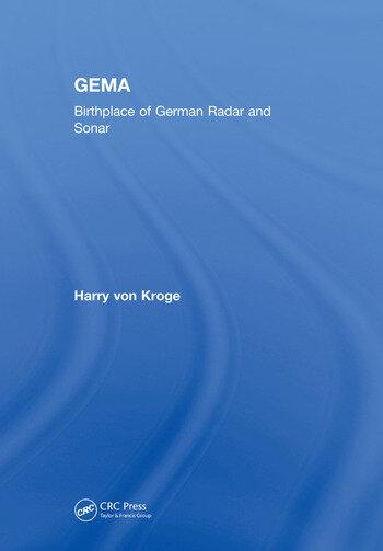 GEMA Birthplace of German Radar and Sonar book cover