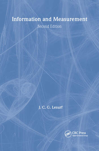 Information and Measurement book cover