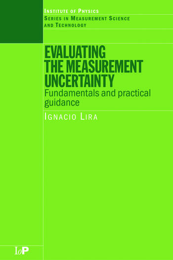Evaluating the Measurement Uncertainty Fundamentals and Practical Guidance book cover