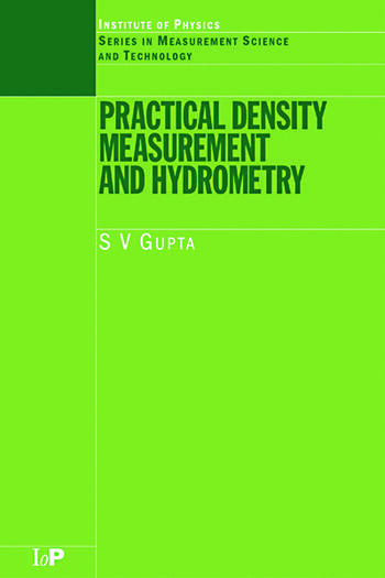 Practical Density Measurement and Hydrometry book cover