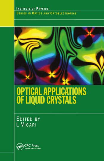 Optical Applications of Liquid Crystals book cover