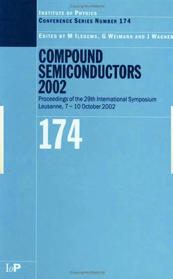Compound Semiconductors 2002 book cover